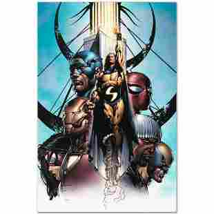 """Marvel Comics """"New Avengers #10"""" Numbered Limited"""