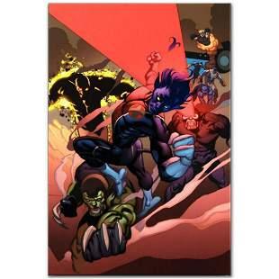 "Marvel Comics ""Secret Invasion: X-Men #1"" Numbered"