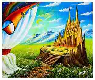 "Eugene Poliarush- Original Oil on Canvas ""Kingdom in"