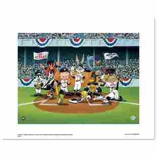 """""""Line Up At The Plate (Astros)"""" is a Limited Edition"""
