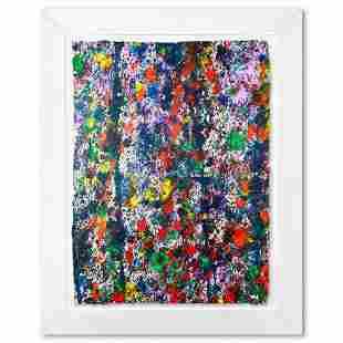 "Wyland, ""Coral Reef 14"" Framed Original Watercolor"