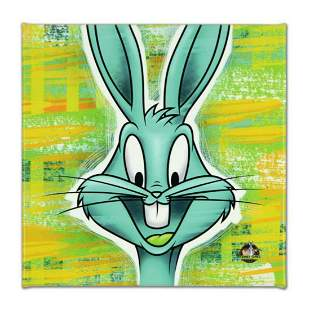"""Looney Tunes, """"Bugs Bunny"""" Numbered Limited Edition on"""