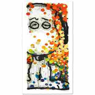 """Tom Everhart- Hand Pulled Original Lithograph """"Beauty"""