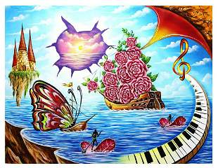 "Eugene Poliarush- Original Oil on Canvas ""The Journey"