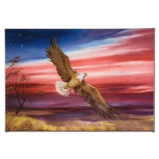 """""""Red White and Blue"""" Limited Edition Giclee on Canvas"""