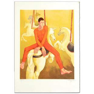 """""""Carousel"""" Limited Edition Lithograph by Daniel"""