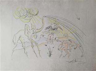 """Salvador Dali """"The Animals ill with the Plague"""" HS/N"""