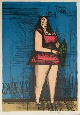 Bernard Buffet lithograph on paper