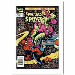 "Stan Lee Signed, ""Spectacular Spider-Man #200"" Numbered"