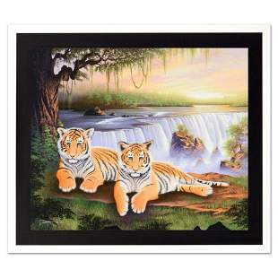 "Jon Rattenbury, ""Tiger Falls"" Limited Edition Giclee on"
