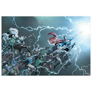 """DC Comics, """"DC Universe: Rebirth #1"""" Numbered Limited"""