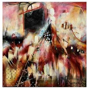 "John Milan, ""Monument Horizon"" Hand Signed Original"