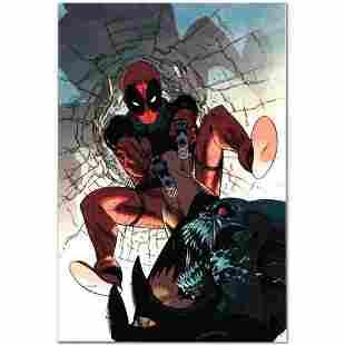 """Marvel Comics """"Deadpool #6"""" Numbered Limited Edition"""