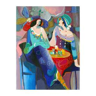 """Isaac Maimon, """"Pastel Gathering"""" Limited Edition"""