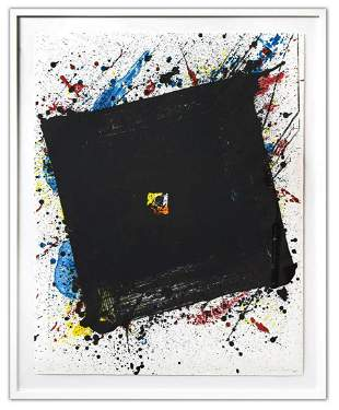 SAM FRANCIS (1923-1994)- Lithograph in colours on