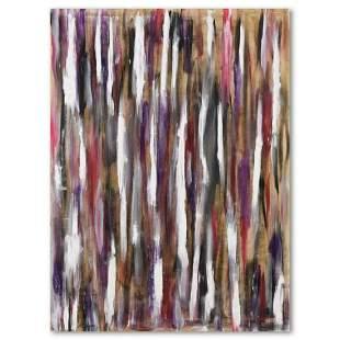 """David Ashouri, """"Night Dreams"""" Original Acrylic Painting"""