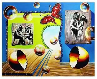 """Alexander Astahov- Original Oil on Canvas """"Hommage to"""