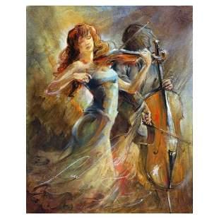 "Lena Sotskova, ""Romance"" Hand Signed, Artist"