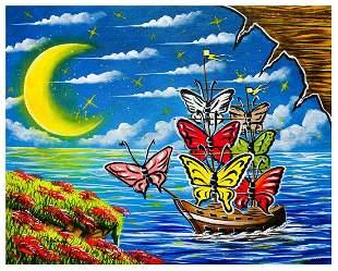 "Eugene Poliarush- Original Oil on Canvas ""Beautiful"