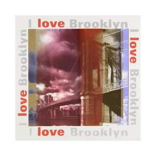 "Steve Kaufman (1960-2010) ""I Love Brooklyn"" Limited"
