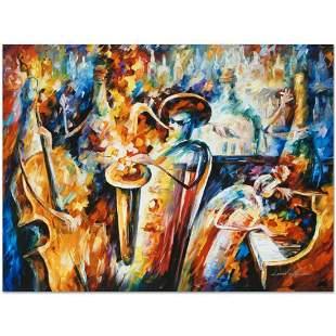 """Leonid Afremov (1955-2019) """"Bottle Jazz III"""" Limited"""