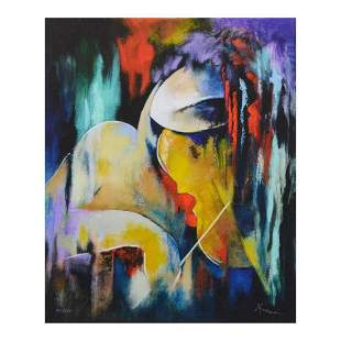 """Arbe, """"Virtuoso"""" Limited Edition on Canvas, Numbered"""