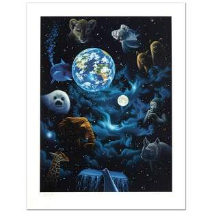 """""""All the World's Children"""" Limited Edition Serigraph by"""