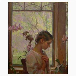 """Dan Gerhartz, """"The Orchid"""" Limited Edition on Canvas,"""