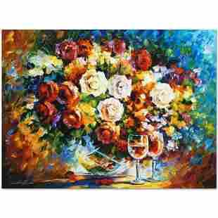 "Leonid Afremov (1955-2019) ""Roses and Wine"" Limited"