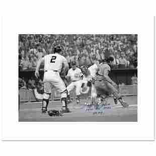 """""""Pete Rose, Fosse Collision"""" Archival Photograph of the"""