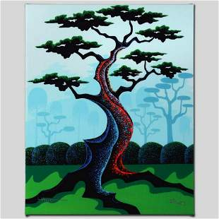 """""""Japanese Garden"""" Limited Edition Giclee on Canvas by"""
