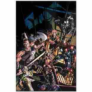 "Marvel Comics ""Dark Avengers #10"" Numbered Limited"