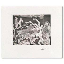 """Pablo Picasso (1881-1973), """"La Celestine"""" from """"347"""