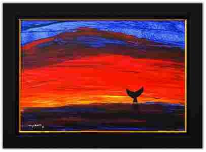 "Wyland- Original Painting on Canvas ""Sunshine"""