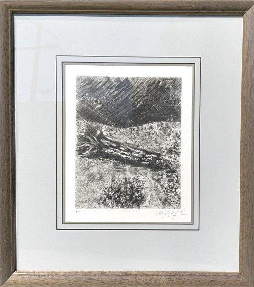 Marc Chagall Pencil
