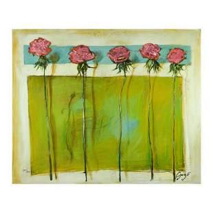 """Lenner Gogli, """"Emerald Fresco"""" Limited Edition on"""