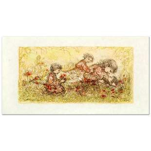 """""""Natures Caress"""" Limited Edition Lithograph by Edna"""