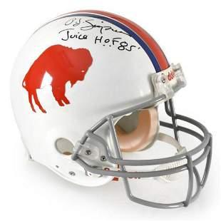 NFL Licensed Buffalo Bills Pro Helmet, Hand-Autographed