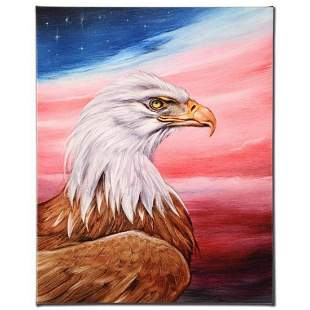 """""""The Eagle"""" Limited Edition Giclee on Canvas by Martin"""