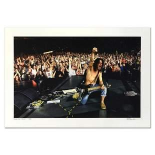 "Rob Shanahan, ""Eddie Van Halen"" Hand Signed Limited"