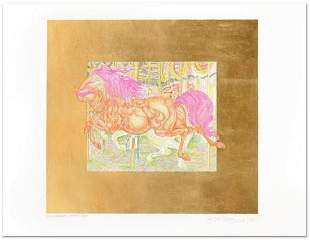 Guillaume Azoulay- Limited Edition Hand Colored Etching