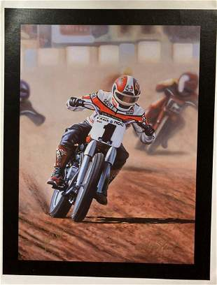 """Scott Jacobs- Original Giclee on Canvas """"Ultimate"""