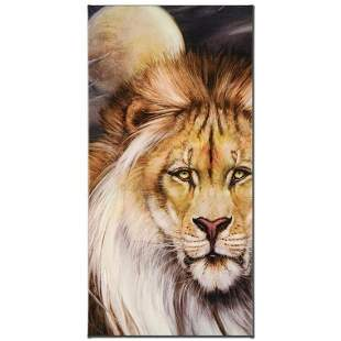 """""""Leo Moon"""" Limited Edition Giclee on Canvas by Martin"""