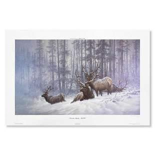 """Larry Fanning, """"Mountain Majesty (Bull Elk, NRA"""