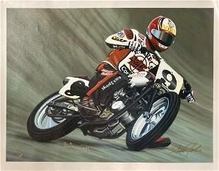 "Scott Jacobs- Original Giclee on Canvas ""Springer Man"""