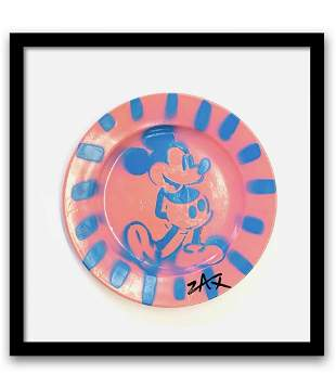 E.M. ZAX Original one of a kind hand painted on