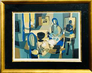 Marcel Mouly Lithograph