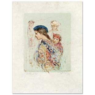 """""""Guatemalan Mother and Baby"""" Limited Edition Lithograph"""