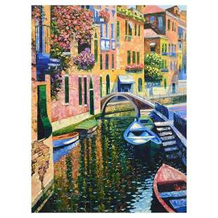 """Howard Behrens (1933-2014), """"Romantic Canal"""" Limited"""