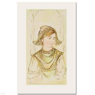 """""""Helen"""" Limited Edition Lithograph by Edna Hibel,"""